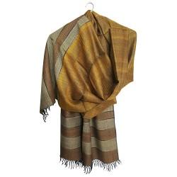 Mehrunnisa Handcrafted Premium Pure Wool Shawl – Unisex (GAR2153)