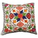 Mehrunnisa Exclusive Kashmiri Hand Embroidered Cushion Cover (HOM1554)