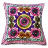 Mehrunnisa Exclusive Rajasthani Multi-Colour Thread Work Cushion Cover (HOM2023)