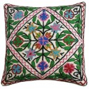 Mehrunnisa Exclusive Kashmiri Hand Embroidered Cushion Cover (HOM2104)