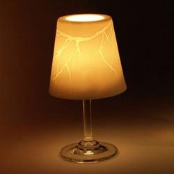 Porcelain Glass Holder Small Lemongrass