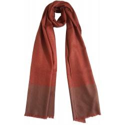 Mehrunnisa Handcrafted Pure Pashmina Cashmere Wool Check Muffler/Scarf Wrap – Unisex (GAR2797)