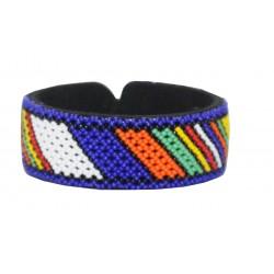 Zulu Beaded Bracelet - Rainbow