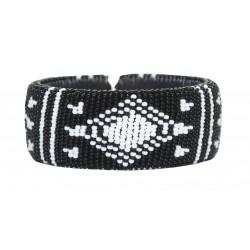 Zulu Beaded Bracelet - Diamond
