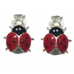 925 Sterling Silver Instinct Earrings
