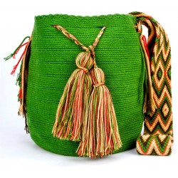 Traditional  Solid Colors  Big Size Mochila Bag