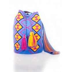 Traditional  Printed Designs Big Size Mochila Bag